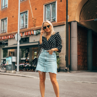 Polka Dot & Denim