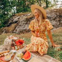 Kesän viimeisiä hetkiä piknikillä